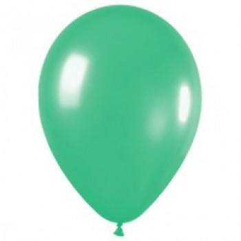 Шар (12''/30 см) Зеленый (030), пастель, 100 шт.