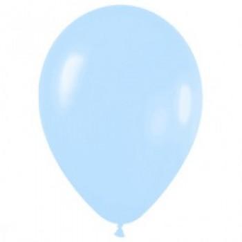 Шар (12''/30 см) Светло-голубой (140), пастель, 100 шт.