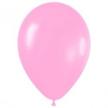 Шар (12''/30 см) Розовый (009), пастель, 100 шт.
