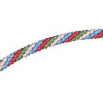Гирлянда из шаров наполненных воздухом (1 метр)