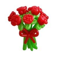 """Цветы из шаров """"Розы"""" 11 шт."""