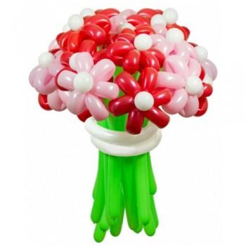 """Цветы из шаров """"Сакура"""" 25 шт."""