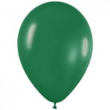Шар (12''/30 см) Темно-зеленый (032), пастель, 100 шт.