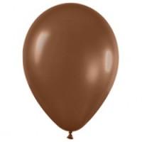 Шар (12''/30 см) Шоколадный (076), пастель, 100 шт.