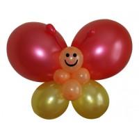 """Фигура из шариков """"Красная бабочка"""""""