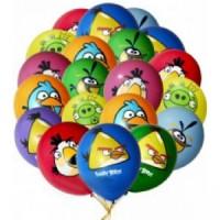 "Шары с гелием ""Angry Birds"" (35 см) 50 шт."