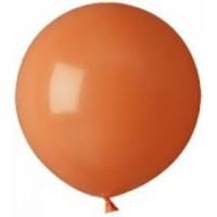 "Большой шар с гелием (1 метр )  ""Коричневый"""