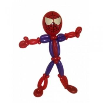 """Фигура из шаров """"Спайдермен"""""""