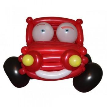 """Фигура из шариков """"Смешное авто"""""""