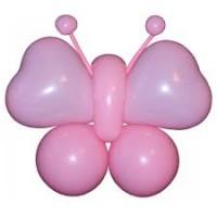 """Фигура из шаров """"Розовая бабочка"""""""