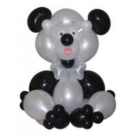 """Фигура из шаров """"Панда"""""""