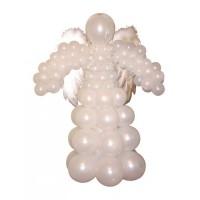 """Фигура из шаров """"Небесный ангел"""""""