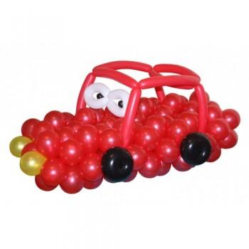"""Фигура из шариков """"Красное авто"""""""